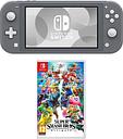 Nintendo Switch Lite & Super Smash Bros. Ultimate Bundle - Grey, Grey