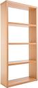ALPHASON Maine Wide Bookcase - Beech