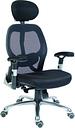TEKNIK Cobham OA1013BLK Mesh Reclining Executive Chair - Black, Black