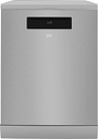 BEKO Pro AutoDose DEN59420DX Full-size Smart Dishwasher - Stainless Steel, Stainless Steel