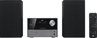 JVC UX-D327B Wireless Traditional Hi-Fi System - Black, Black
