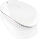 SANDSTROM SLWLSLIM15 Wireless Blue Trace Mouse - White, Blue