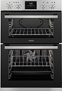 ZANUSSI ZOD35660XK Electric Double Oven - Black & Stainless Steel, Stainless Steel