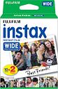 FUJIFILM P10GM13220A Instax Wide Film - Twin Pack