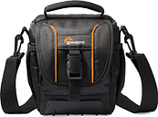 LOWEPRO Adventura SH 120 ll DSLR Camera Bag - Black, Black