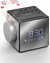 SONY ICF-C1PJ Portable FM/AM Clock Radio - Silver, Silver