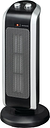 LOGIK L20CTH18 Portable Hot & Cool Ceramic Fan Heater - Black & Silver, Black