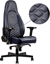 NOBLECHAIRS ICON Leather Gaming Chair - Blue, Blue