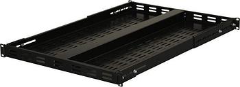 StarTech.com ADJSHELF 1U Adjustable Mounting Depth Vented Rack Mount Shelf - 175 lbs / 80 kg - Fixed Server Rack Shelf