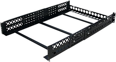 StarTech.com UNIRAILS2U 2U Fixed 19' Adjustable Depth Universal Server Rack Rails