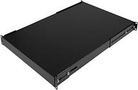 StarTech.com ADJSHELFHD 1U Adjustable Mounting Depth Rack Mount Shelf - Heavy Duty Fixed Server Rack Cabinet Shelf - 175 lbs / 80 kg - Fixed Rack.