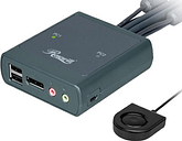Rosewill 2-Port USB DisplayPort KVM Switch - RKV-18002
