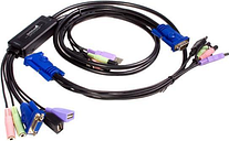 StarTech.com SV215MICUSBA 2 Port USB VGA KVM Switch with Audio