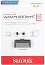 SanDisk 128GB Ultra Dual Drive USB Type-C Flash Drive, Speed Up to 150MB/s (SDDDC2-128G-G46)
