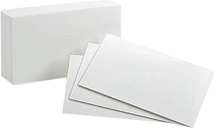 Oxford 50BX Plain Index Cards