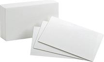 Oxford 40BD Plain Index Cards