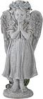 10' Gray Praying Angel Girl Outdoor Patio Garden Statue