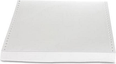 Sparco Computer Paper Plain 20 lb. 9-1/2'x11' 2300 Sht/CT WE 00408