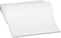 Sparco Computer Paper Plain 20 lb. 12'x8-1/2' 2400 Sh/CT White 62445