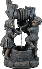 30' Children at the Well Outdoor Patio Garden Water Fountain