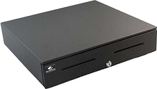 """APG Series 4000 Heavy Duty Cash Drawer, 18"""" x 16"""", Dual Media Slots, USBPRO HID End Node, Coin Roll Storage Till, Includes Cable, Painted Front."""
