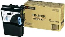 Kyocera Original TK-820K Toner schwarz 15.000 Seiten (1T02HP 0EU0) für FS-C8100DN