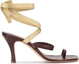 Christopher Esber - Arta Heel sandals - women - Lamb Skin/Leather - 38 - Brown