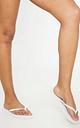White Flip Flops, White