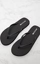 PRETTYLITTLETHING Black Flip Flops