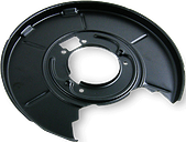 METZGER Chapa Protectora de Disco de Freno VW 6115057 Chapa protectora contra salpicaduras, disco de freno