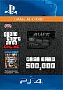 GTA Online Bull Shark Cash Card - $500,000 (PS4) for PlayStation 4