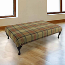Designer Sofas 4 U - Chesterfield Queen Anne Footstool Beningborough Goldcrest Wool UK Manufactured