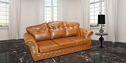 Era 3 Seater Settee Traditional Chesterfield Sofa Old English Tan - DESIGNER SOFAS 4 U