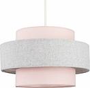 Ceiling Pendant Light Shade - Pink & Grey - MINISUN