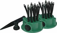 Orange Donkey Sprinkler Set 'Flexi Point' - Green
