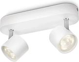 Philips myLiving Focos LED Star 2x4,5 W blanco 562423116 - Blanco