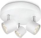 Philips myLiving Foco LED Star 3x4,5 W blanco 562433116 - Blanco