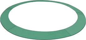 Safety Pad Round Trampoline PE Green for 10 Feet/3.05 m - Green - Vidaxl