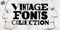 Vintage Fonts Collection