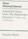 A spell for green corn (the MacDonald dances)