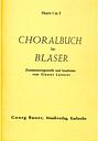 Choralbuch für Bläser