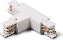 Connettore per binario trifase 'TRB' moderno blanco/plastica interno