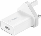 Belkin BOOSTCHARGE 18W USB-A Wall Charger with Quick Charge 3.0 - White
