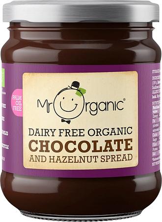 Mr Organic Dairy Free Chocolate & Hazelnut Spread (200g)