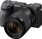 Sony Alpha A6600 Mirrorless Camera with 18-135mm Lens - ILCE6600M/B