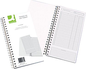Q-Connect Wirebound Things to Do Today Book 150x280mm KF01339