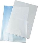 Q-Connect Cut Flush Folders A4 Clear (Pack of 100) KF24002