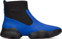 Camper Dub, Baskets Femme, Bleu/Noir, Taille 35 (EU), K400109-008