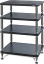 Solidsteel Flat Black High-End Audio Rack