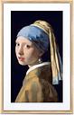 "Meural Canvas II 21"" Light Wood Digital Picture Frame"